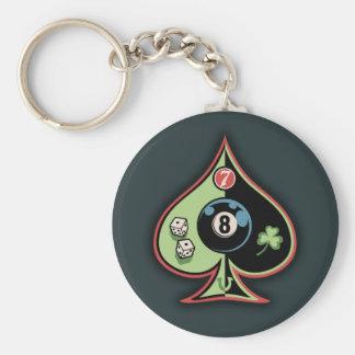 8 von Spaten Schlüsselanhänger