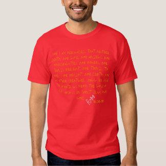 "8h38 de ""Romains ""d'habillement de promenade du Tee Shirt"