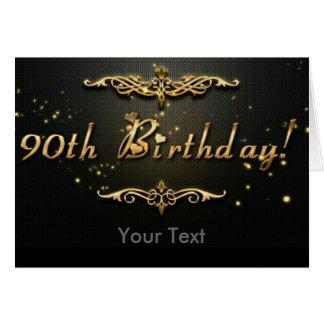 90. Geburtstag! Karte