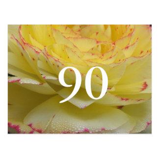 90. Geburtstag Postkarte