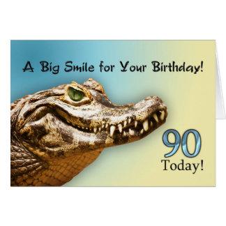 90. Geburtstags-Karte Karte