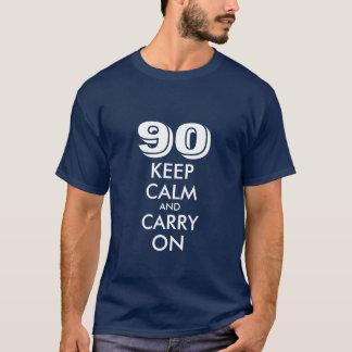 90. Geburtstagst-shirt für Männer | behalten T-Shirt