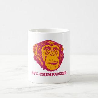 98% Schimpanse Kaffeetasse