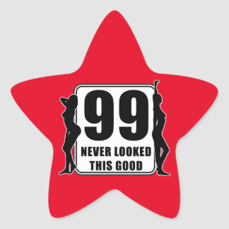 99 never looked this good  Stern-Aufkleber