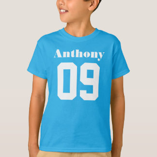 9. Individueller Name des Geburtstags-Shirt-|