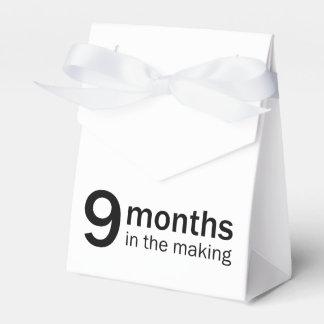 """""""9 Monate in der machen"""" Bevorzugung/in den Geschenkschachtel"""