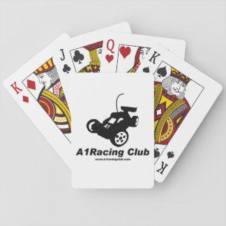 A1, das Verein-Spielkarten läuft Pokerkarte