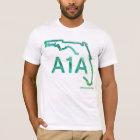 A1A Floridas landschaftliche Landstraße T-Shirt