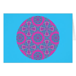A41 keltischer kaleidoskopischer Quergruß 2 Karte