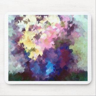 à fleurs de vase toujours peinture à l'huile tapis de souris