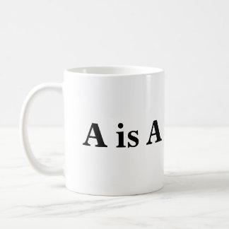 A ist A Kaffeetasse