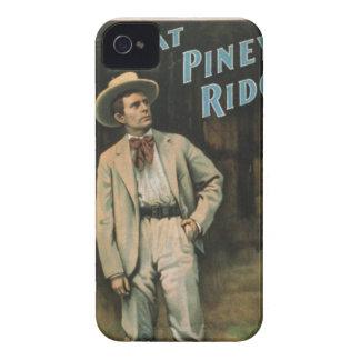 À la caisse vintage de mûre d'art de tour piney coques iPhone 4 Case-Mate