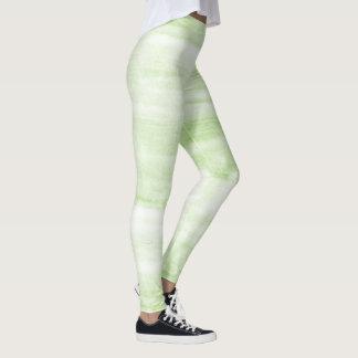 À la mode peint - guêtres de marbre d'impression leggings