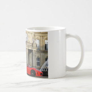 A red sports car from Maranello Italy Kaffeetasse