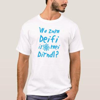 À tee-shirt fête de la bière, Dirndl, fêtes de la T-shirt
