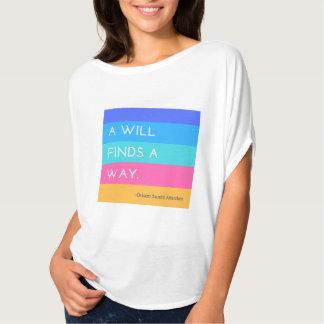 A-Wille findet ein Weisen-Shirt T-Shirt