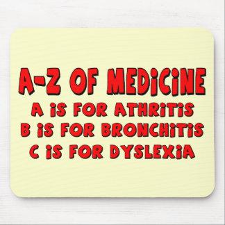 A-Z von Dyslexie Mousepad