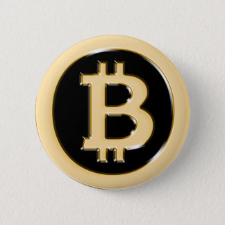 AA568-Bitcoin-Made-of-Gold-symbol Runder Button 5,1 Cm