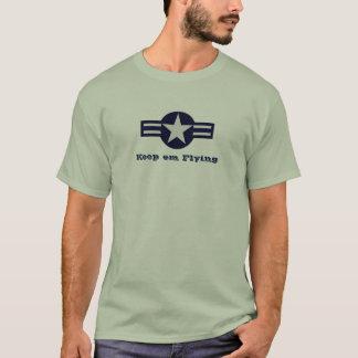 AAF behalten EM-Fliegen-T-Stück T-Shirt