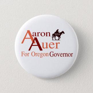 Aaron Auer für Oregon-Gouverneur-Button Runder Button 5,7 Cm