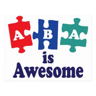ABA-Therapie ist fantastisch Postkarte