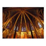Abaissez la chapelle de la La Sainte-Chapelle, Carte Postale