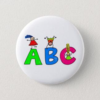 ABC RUNDER BUTTON 5,1 CM