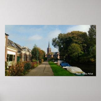 Abcoude, die Niederlande Poster