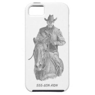 Abdeckung des Cowboy-GON-RIDN (iPhone 5/5s) Schutzhülle Fürs iPhone 5
