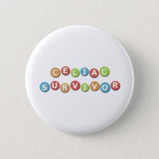Abdominaler Überlebender Runder Button 5,1 Cm