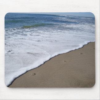 Abdrücke am Strand Mousepads