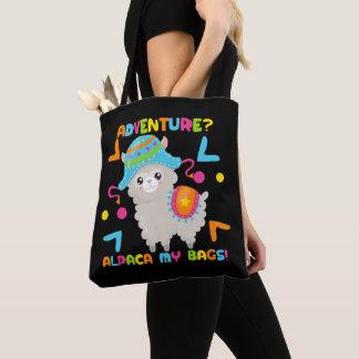 Abenteuer-Alpaka mein Taschen-Spaß Tasche