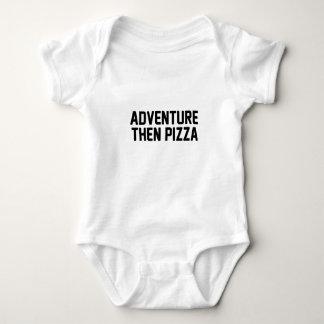 Abenteuer-dann Pizza Baby Strampler