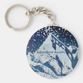 Abenteuer erwartet Schlüsselkette Schlüsselanhänger