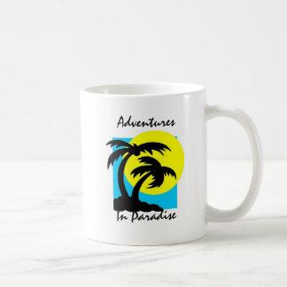 Abenteuer in der Paradies-Tasse Tasse
