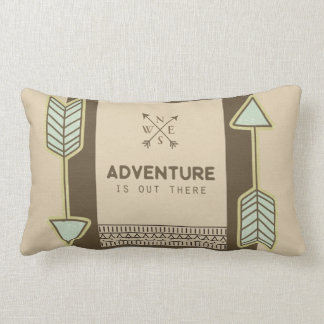 Abenteuer ist dort draussen Kissen