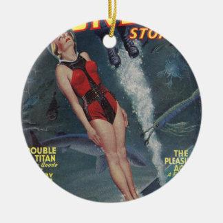 Abenteuer Unterwasser Keramik Ornament