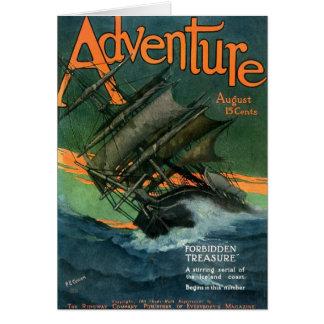 Abenteuer-Zeitschrift, im August 1911 Grußkarte