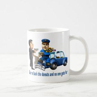 Aber Polizist-Liebe-Schaumgummiringe Kaffeetasse