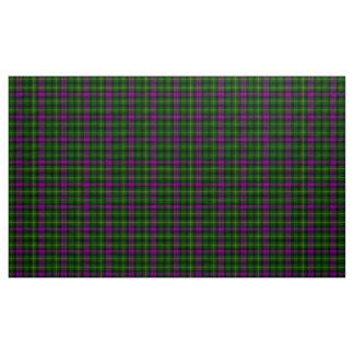 Abercrombie Tartan-lila und grünes kariertes Stoff