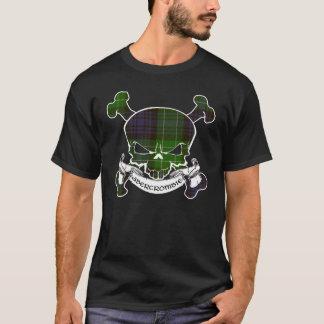 Abercrombie Tartan-Schädel-Shirt T-Shirt