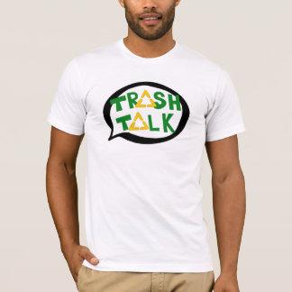 Abfall-Gesprächslogot-stück T-Shirt