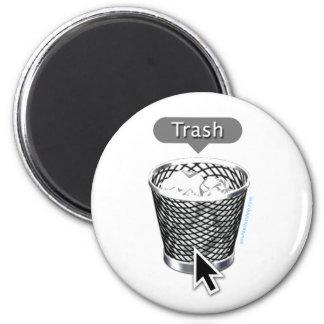 Abfall Runder Magnet 5,1 Cm