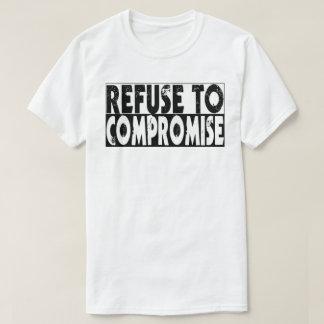 Abfall zum zu kompromittieren T-Shirt