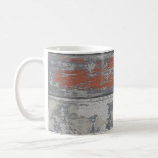 Abgebrochene Farben-Überlebend-Tasse Kaffeetasse