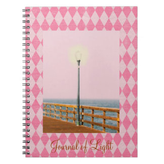 Tinted Pier Lamp Post Pink Argyle Journal
