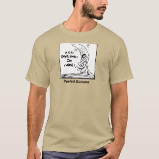 Abgezogene Banane T-Shirt