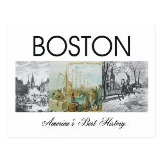 ABH Boston Postkarte