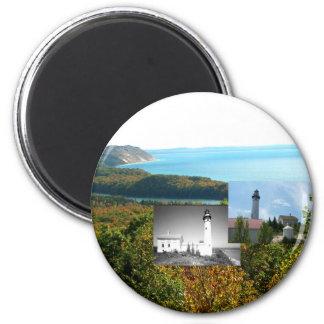 ABH Schlafenbärn-Dünen Runder Magnet 5,1 Cm