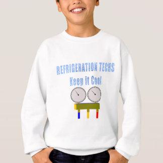 AbkühlungTechs behalten es Cool.png Sweatshirt